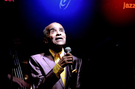 Jon Hendricks at Ronnie Scott's, 18 november 2010 © David Sinclair