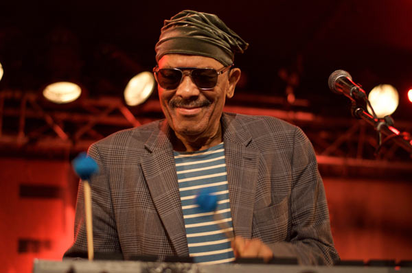 Roy Ayers, 28 juillet 2016 New Morning, Paris © Mathieu Perez