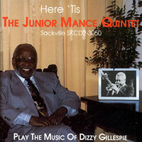 1992. Junior Mance, Here'Tis, Sackville