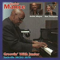 2006. Junior Mance, Groovin' With Junior, Sackville