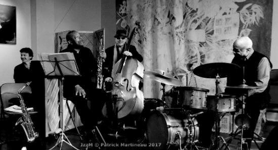 Steve Potts et Jobic Le Masson Trio © Patrick Martineau