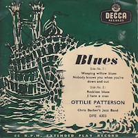 45t 1955. Ottilie Patterson with Chris Barber's Jazz Band, Blues