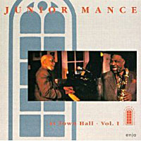 1995. Junior Mance, At Town Hall-Vol. 1, Enja
