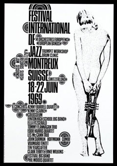 1969. Festival International de Jazz de Montreux