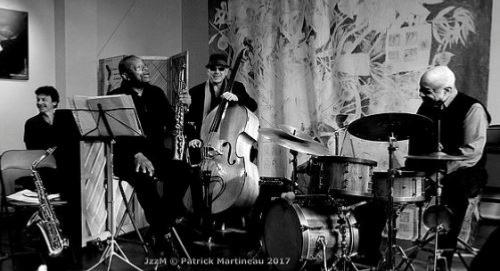Jobic Le Masson Trio & Steve Potts © Patrick Martineau