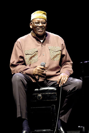 Randy Weston at Queen Elizabeth Hall, London, 23 November 2003 © David Sinclair