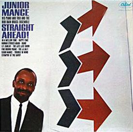 1964. Junior Mance, Straight Ahead!, Capitol