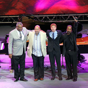 Mulgrew Miller, Kenny Barron, Benny Green, Eric Reed, Jazz à Vienne 2012 © Pascal Kober