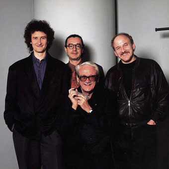 Tournée de Toots au Japon avec Michel Herr, Riccardo Del Fra, Adam Nussbaum © Photo X, by courtesy of Michel Herr