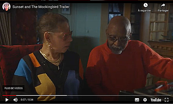 Gloria-et-Junior-YouTube, bande-annonce du documentaire Sunset and the Mockingbird