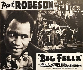 Paul Robeson dans Big Fella, 1937