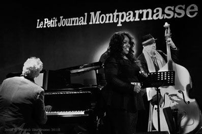 Chris Culpo, Denise King, Peter Giron, Petit Journal Montparnasse, février 2016 ©Patrick Martineau
