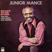 1970. Junior Mance, With a Lotta Help From My Friends, Atlantic