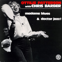 1983. Ottilie Patterson with Chris Barber, Madame Blues & Doctor Jazz!