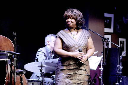Deborah Brown at Ronnie Scott's, London, 19 janvier 2009 © David Sinclair