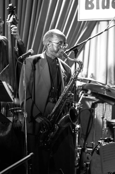 Jimmy Heath Big Band, Blue Note, New York, 7 mars 2016 © Mathieu perez