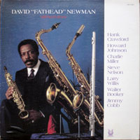 1982. David Fathead Newman, Still Hard Times