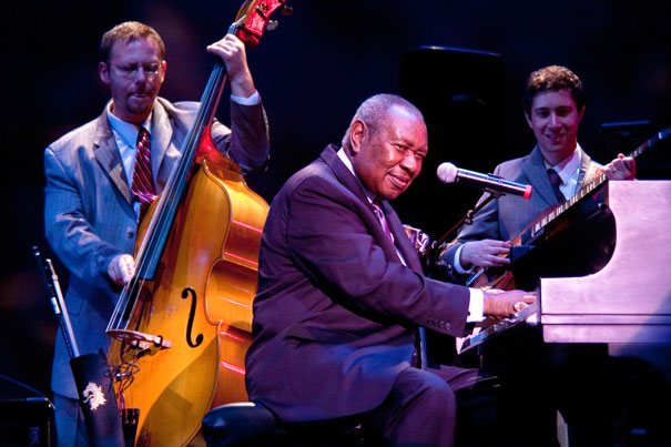 Elias Bailey (b), Freddy Cole et Randy Napoleon (g) © photo Allen Lyons by Courtesy of Suzi Reynolds