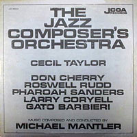 1968. The Jazz Composer's Orchestra de Michael Mantler, avec Roswell Rudd