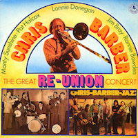 1975. Chris Barber, The Great Re-union Concert