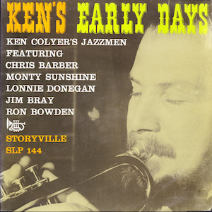 1953. Ken Colyer's Jazzmen, Ken's Early Days