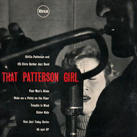 45t 1955. Ottilie Patterson with The Chris Barber's Jazz Band, That Patterson Girl