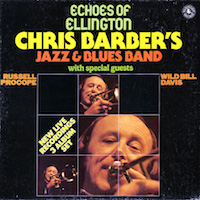 1976. Chris Barber's Jazz & Blues Band with special guests Russell Procope, Wild Bill Davis, Echoes of Ellington