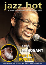 Jazz Hot n°684, été 2018, Kevin Mahogany et Mighty Mo Rodgers © David Sinclair et Patrick Martineau