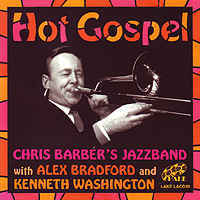 1963. Chris Barber's Jazz Band with Alex Bradford and Kenneth Washington. Hot Gospel