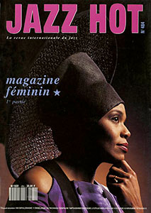 Dee Dee en couverture de Jazz Hot n°484, 1991