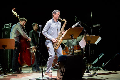 Mark Turner Quartet© Gianfranco Rota by courtesy of Bergamo Jazz