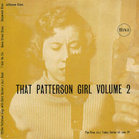 45t 1956. Ottilie Patterson with The Chris Barber's Jazz Band, That Patterson Girl vol.2, Nixa NJE 1023