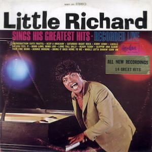1965. Little Richard Sings His Greatest Hits. Recorded Live