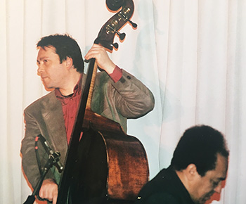 Gilles Naturel et Alain Jean-Marie, Jazz à Chevilly-Larue, mars 2001 © Joseph Giscard, coll. Gilles Naturel by courtesy