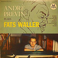 1958. André previn Plays Fats Waller, Tops