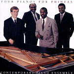 1989. Harold Mabern, The Contemporary Piano Ensemble: Four Pianos for Phineas
