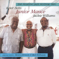 1997. Junior Mance/The Floating Jazz Festival Trio 1997+Henry Johnson et Red Holloway, Chiaroscuro