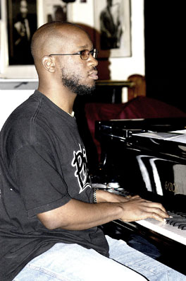 Orrin Evans at Ronnie Scott's, 23 juin 2003 © David Sinclair