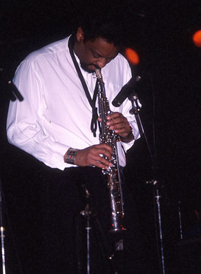 Chico Freeman, au Cri du Port, Marseille 1991 ©Guy Reynard