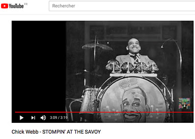 Chick Webb and His Orchestra, Stompin' at the Savoy,Savoy Ballroom