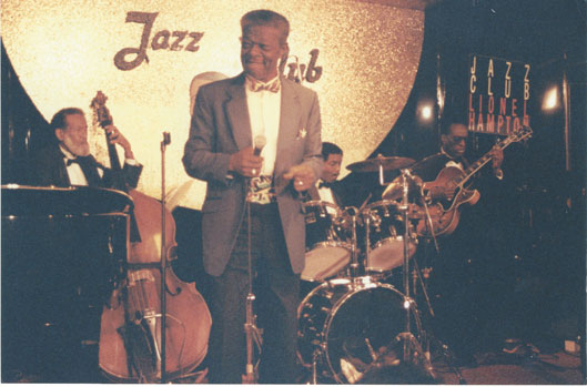 Ike Cole, Jazz Club Lionel Hampton © Photo X by courtesy of Suzi Reynolds