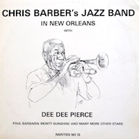1959. Chris Barber's Jazz Band, In New Orleans with Dee Dee Pierce, Paul Barbarin, Monty Sunshine and Many More Other Stars