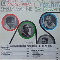 1963. André Previn/Herb Ellis/Shelly Mane/Ray Brown Quartet, Columbia