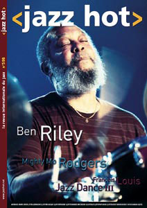 Jazz Hot n°598, Ben Riley en couverture