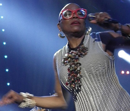 Dee Dee Bridgewater, Jazz in Marciac, 30 juillet 2017 © Michel Laplace