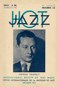 Jazz Hot n°25<small> (avant-guerre)</small>