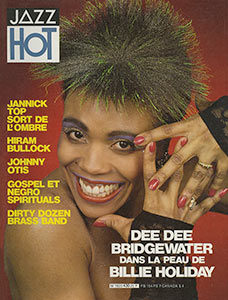 Dee Dee en couverture de Jazz Hot n°430, 1986