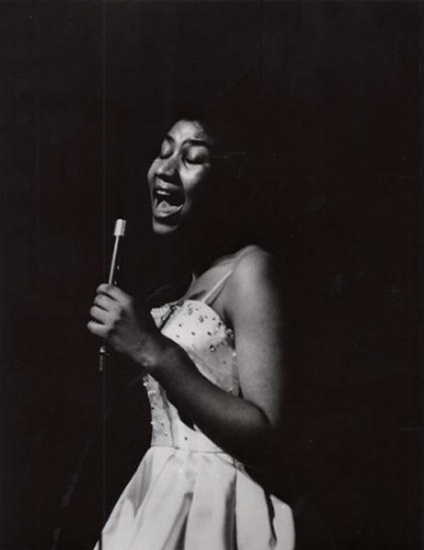 Aretha Franklin © photo X, by courtesy of Columbia