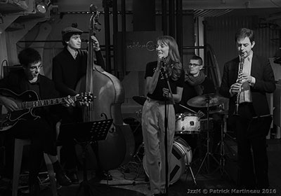 The Scarlet Swing Band © Patrick Martineau