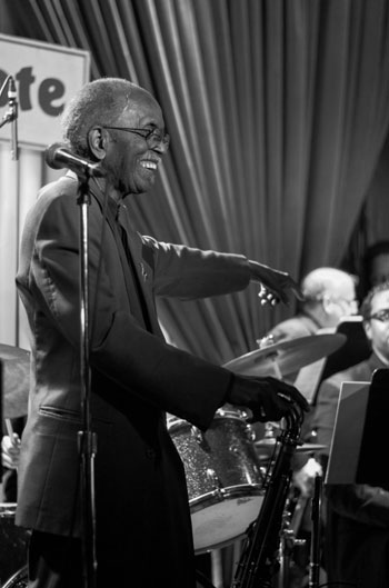 Jimmy Heath Big Band, Blue Note, New York, 7 mars 2016 © Mathieu Perez.